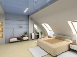 Trend: Schlafzimmer und Bad in einem Raum