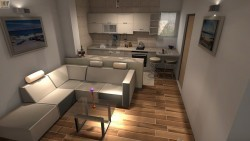 Wohnung mit Küche