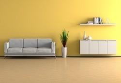 Wohnzimmer - Gelb
